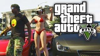 getlinkyoutube.com-GTA 5 THUG LIFE #60 - IN THE STREETS WITH SSSNIPERWOLF! (GTA V Online)