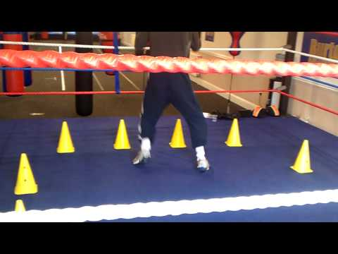 boxing training shadow boxing footwork drills
