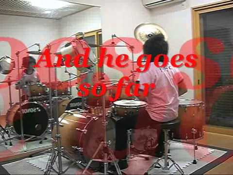 A Falling Blossom Will Bloom Again / KNIGHTS OF ROUND JUHKI Drums Self Cover