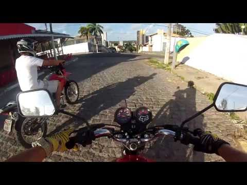 Shineray 150 vs CG 125 FAN | Rolé Tenso em Ponta Negra