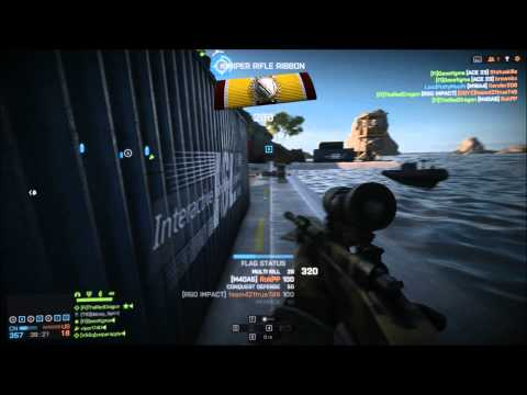 Battlefield 4 Episode 8 some no scopes and a bobcat kill