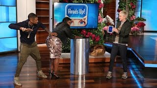 getlinkyoutube.com-Usher and Octavia Spencer Demonstrate Some Bad Behavior
