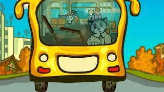 getlinkyoutube.com-Колеса Автобуса - Три Котенка - теремок тв: песенки для детей