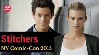 NYCC 2015: Emma Ishta e Kyle Harris de Stitchers
