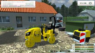 getlinkyoutube.com-Mini-Engins de chantiers Tests Démonstrations landwirtschafts simulator