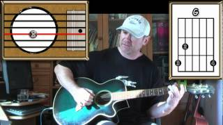 Words - The Bee Gees - Acoustic Guitar Lesson (Easy)
