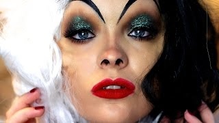 getlinkyoutube.com-Cruella De Vil Makeup Tutorial