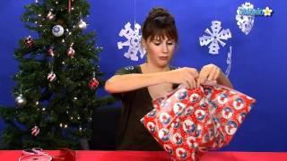 getlinkyoutube.com-How To Gift Wrap an Odd-Shaped Present