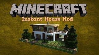 getlinkyoutube.com-Instant House Mod For minecraft Pe!