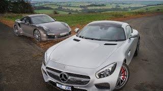 getlinkyoutube.com-Mercedes-AMG GT S v Porsche 911 Turbo