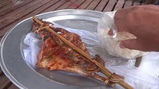 getlinkyoutube.com-กินไก่ย่างหลัก 35 สะหวันนะเขต  Savannakhet street food