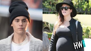 getlinkyoutube.com-WTF! Kourtney Kardashian PREGNANT With Justin Bieber's Baby?!