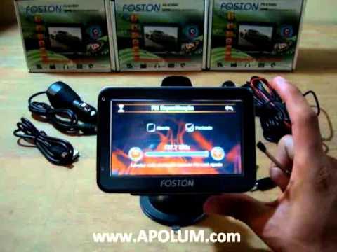 GPS Foston Fs-470DC 4,3