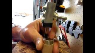 getlinkyoutube.com-Home made battery tab spot Welder