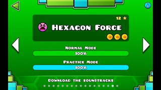 "getlinkyoutube.com-""Geometry Dash"" level 16 - Hexagon Force (100%)"