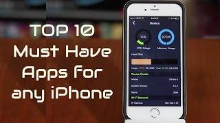 getlinkyoutube.com-Top 10 Must Have iPhone Apps 2016