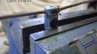 getlinkyoutube.com-Dénudeur câble électrique rom1f manuel wire stripper manual video