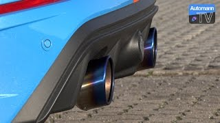 2016 Ford Focus RS Mk3 - EGO-X Exhaust (60FPS)
