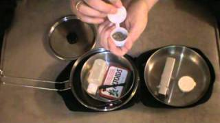 getlinkyoutube.com-Solo One Person Cook Kit for Bushcraft and Outdoor Activities