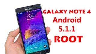 getlinkyoutube.com-Root Samsung Galaxy Note 4 Android 5.1.1 Lollipop