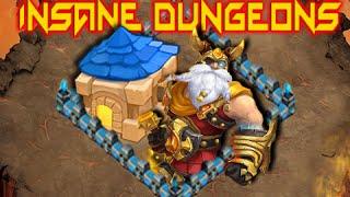 getlinkyoutube.com-Castle Clash: Insane Dungeons 5-1, 5-2 & 5-3 ❚ F2P