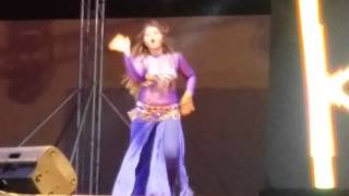 getlinkyoutube.com-Kajal raghwani triple dhamaka in doha Qatar
