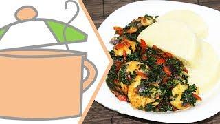 Vegetable and Shrimp Sauce   All Nigerian Recipes
