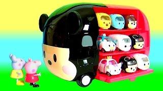 getlinkyoutube.com-Como Guardar Disney Tsum Tsum Motors Carrinhos da Tomica Takara Tomy no novo Mickey Tsum Tsum Motors