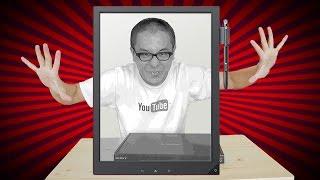 getlinkyoutube.com-これはすげえ!ソニーのほぼA4サイズ業務用デジタルペーパー「DPT-S1」がやってきた!前編