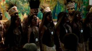 getlinkyoutube.com-Wakhu Bhim Choir - Papuan Tribe Music