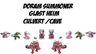 getlinkyoutube.com-Doram   Summoner   Glast Heim   Culvert   Cave   Ragnarok Online