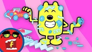 getlinkyoutube.com-Made By You | Fredbot Children's Cartoon (Wow! Wow! Wubbzy!)