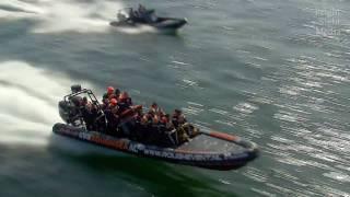 getlinkyoutube.com-Extreme speed boats (rhib)
