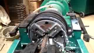 getlinkyoutube.com-SinoCRS Rebar Thread Rolling Machine/Anchor Bolt Threading Machine
