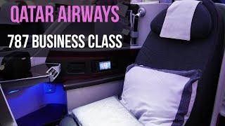 getlinkyoutube.com-QATAR AIRWAYS BUSINESS CLASS 787 Dreamliner London to Doha