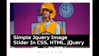 Really Simple Plain Responsive Image Slider In CSS HTML Jquery Without Image Slider Plugin