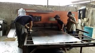 getlinkyoutube.com-Cutting and Bending Proses Pembuatan Pintu Besi dan Pintu Tahan Api