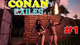 Conan Exiles #1เอาชีวิตรอดในแดนสัตว์ร้าย Ft.Uke