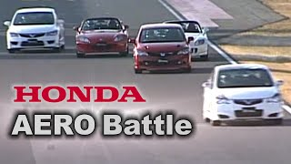 getlinkyoutube.com-[ENG CC] Honda Aero battle - Mugen Civic FD2 RR, Modulo FD2, S2000 Type S Tsukuba 2008