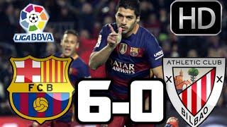 getlinkyoutube.com-Barcelona 6-0 Athletic Club| RESUMEN Y GOLES HD| LA LIGA| 17-01-2016