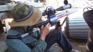 getlinkyoutube.com-Target Practicing at the Ashland, Oregon Air Gun Range