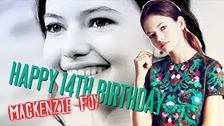 getlinkyoutube.com-Happy 14th Birthday Mackenzie Foy