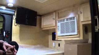 getlinkyoutube.com-2015 5x10 Silver Shadow Teardrop Camping Trailer