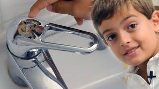 getlinkyoutube.com-Desmontar y limpiar el grifo monomando