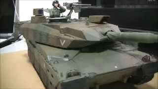 getlinkyoutube.com-Hitec VS TANK 陸上自衛隊10式戦車