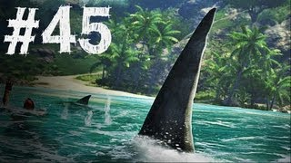 Far Cry 3 Gameplay Walkthrough Part 45 - Shark Attack - Mission 32