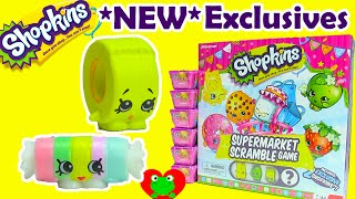 getlinkyoutube.com-Shopkins Supermarket Scramble Game with 2 NEW Exclusive Shopkins