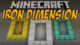 3 NEUE DIMENSIONEN | Iron Dimension Mod | Minecraft Mod Review [DEUTSCH]