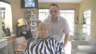 getlinkyoutube.com-Corte de Cabello para Mujer Paso a Paso- Haircut Woman Step by Step