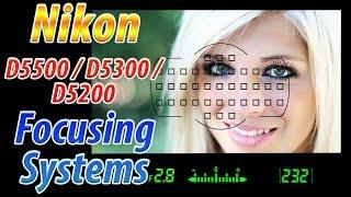 getlinkyoutube.com-Nikon D5500 / D5300 / D5200 Focus Square Tutorial   How to Focus Training Video